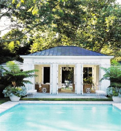 Pool House Photos Photos And Ideas Backyard Pool House