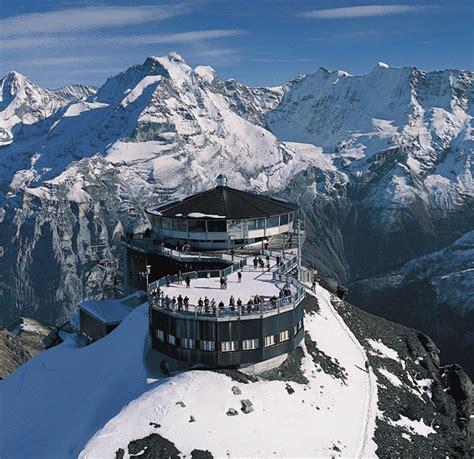 servie zwitserland piz gloria schilthorn zwitserland bond lifestyle