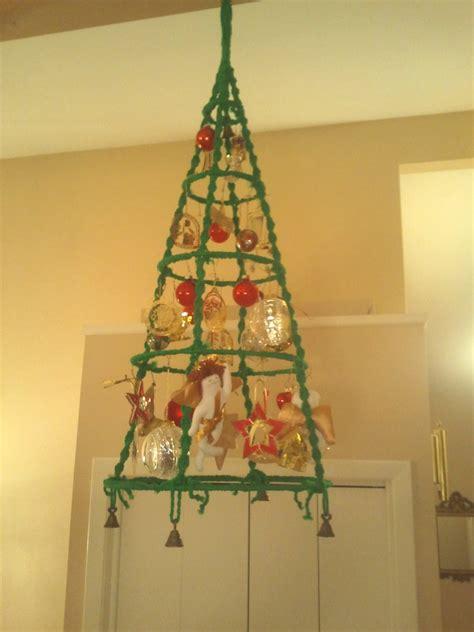 macrame christmas tree wall hanging pattern macrame christmas tree wall hanging pattern