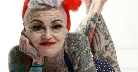 tattooed old lady what tattoos look like when you re