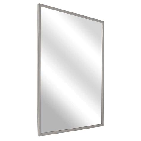 Tempered Glass Mirror Bradley Angle Frame Mirror With 1 4 Quot Tempered Plate Glass