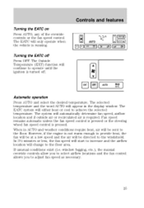 online auto repair manual 2000 lincoln town car engine control 2000 lincoln town car problems online manuals and repair information
