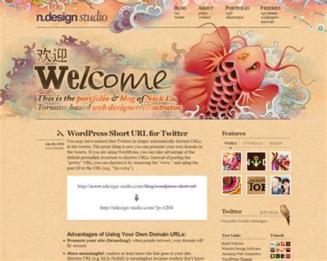 beautiful blog design 50 most amazing beautiful blog designs creative nerds