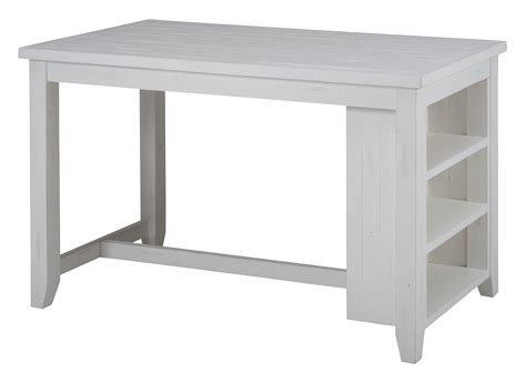 counter height island table island nook reclaimed pine counter height table with 3