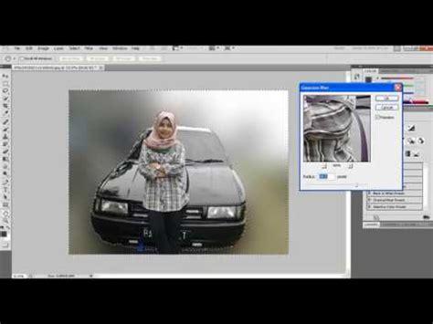 membuat latar belakang photoshop membuat efek blur latar foto menggunakan photoshop youtube