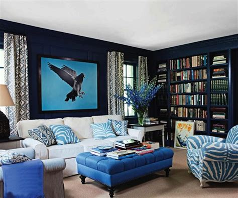 blue room ideas 15 refrescantes dise 241 os de salas en color azul