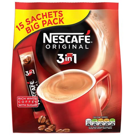 Unicorn Pj 3in1 Set nescafe original 3 in 1 coffee sachets 15pk coffee b m