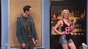 emma stone snl hot dog emma stone hosts snl for third time daily mail online