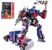Transformer Optimus Prime Trailer Converts To Mechtech Action Figure
