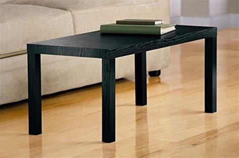 dhp parsons modern coffee table dhp parsons modern coffee table black wood grain