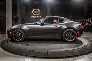 Madza Miata See The 2017 Mazda Mx 5 Miata Rf S Folding Top In