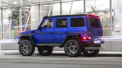 Mercedes G550 Reviews by 2017 Mercedes G550 4x4 Squared Review Photo