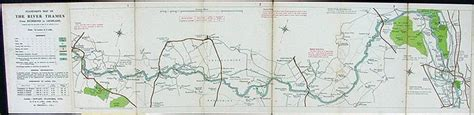 map of river thames richmond stanford s new map of the river thames from richmond to