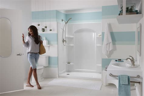 Sterling Bathroom Showers Sterling Shower Door Zab64913 Rgbs