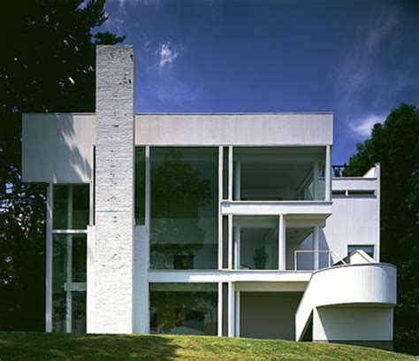 the smith house richard meier smith house modern design by moderndesign org