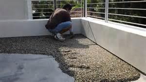 Pebble Tec Patio by Pebbletec Floor System Installation By Designs