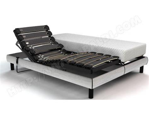Lit Electrique 2x90x200 lit electrique 2x90x200 maison design wiblia