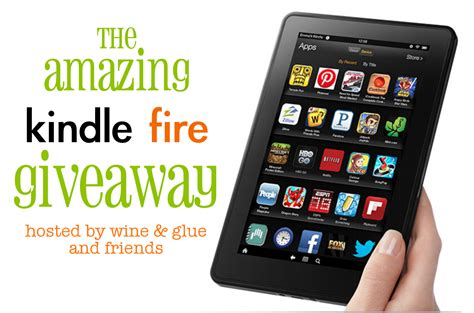 Kindle Giveaway - the amazing kindle fire giveaway cooking with ruthie