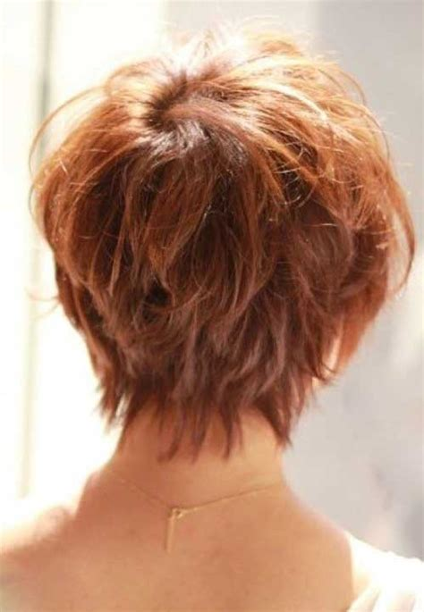 layered hair front and back view short layered haircuts for women front and back view www