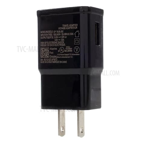 Samsung Travel Fast Charger S8 S8 Colour Black 9v adaptive fast charging travel power adapter for samsung