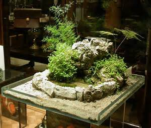 indoor miniature japanese garden