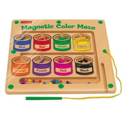 lakeshore magnetic color maze keywest internationale