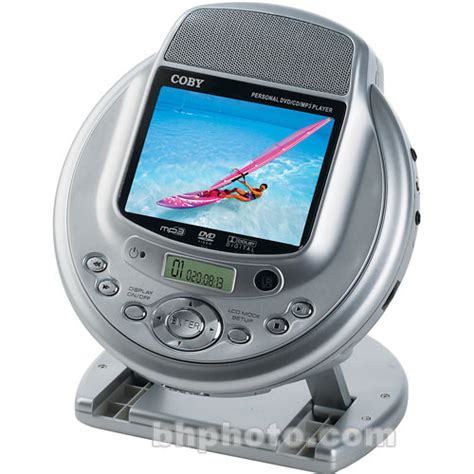 Dvd Mobil Player Mp3 coby tf dvd530 portable dvd player 3 5 quot lcd tfdvd530 b h