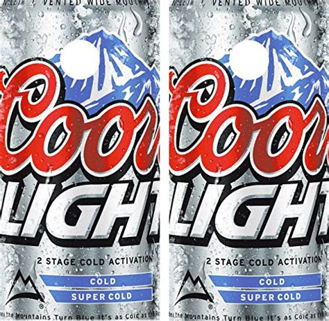 wrap decal coors light laminated includes 2