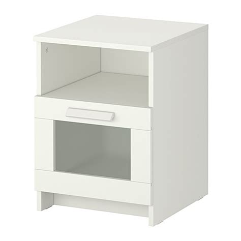 White Bedside Drawers Ikea Brimnes Bedside Table Ikea