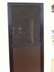 Glass Door Screen Single Swing Type Screen Door On Alcoframe Profile Society Glass Gabriel Builders Inc