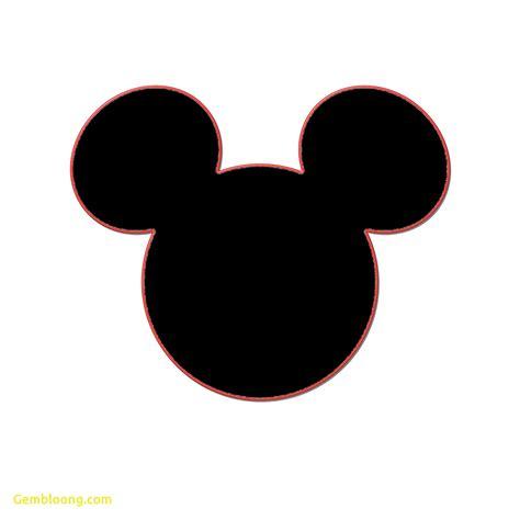 minnie mouse ears template free awesome minnie mouse ears template best templates