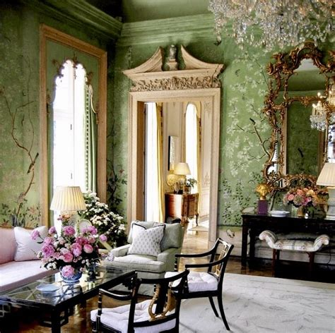 barbara hutton winfield house gracie antique wallpaper