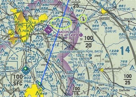atlanta sectional chart 7 30 2010 lake sinclair photo flight log