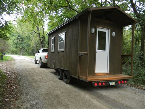 tiny cabin on wheels the butterfly cabin by yahini homes 144 sq ft on wheels