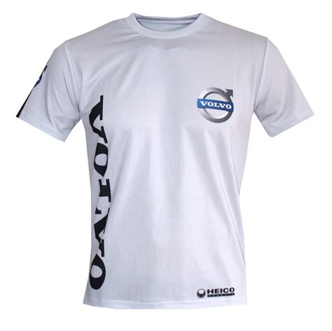 volvo t shirt with logo and all printed picture t