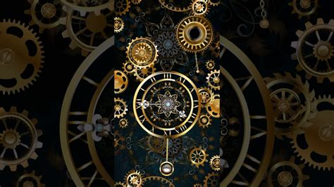 clock themes for samsung e2252 samsung theme live wallpaper gold clock youtube