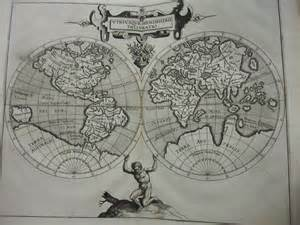 First World Map by First American Atlas Raiders Of The Lost Archives