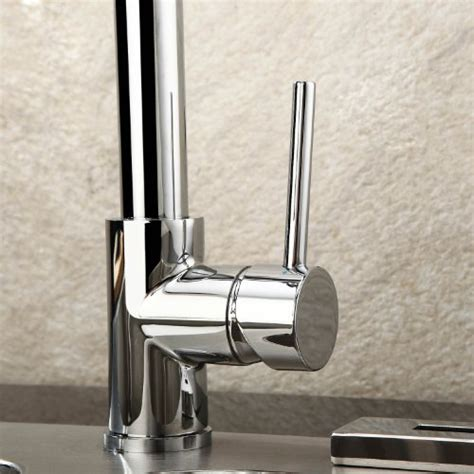 lightinthebox deck mount single handle solid brass spring kitchen faucet   spouts