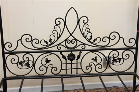 queen wrought iron bed queen wrought iron vine canopy bed for sale at 1stdibs