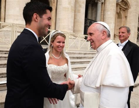 Wedding Blessing From The Pope by Pope Francis Blesses Ucf Marriage Ucf News