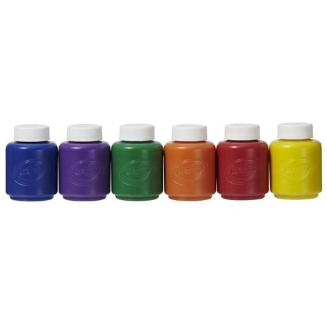 crayola painting crayola washable paints for 6 pack