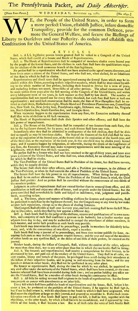 full printable us constitution best photos of united states constitution full text