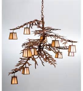 tree chandelier pine tree branch chandelier