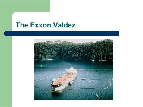 Exxon Mba by Exxon Valdez Spill Presentation