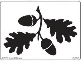 dreamweaver stencil lg754 large oak leaves