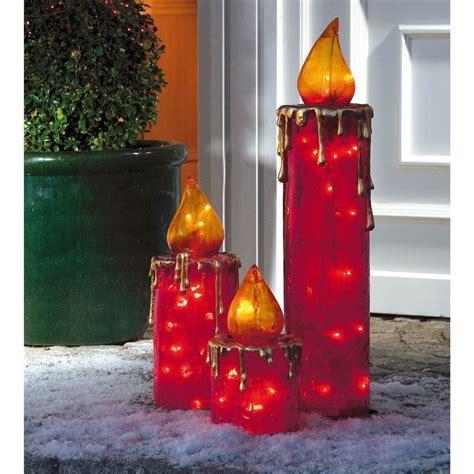Weihnachtsdeko Fenster Elektrisch elektrische maxi kerzen f 252 r drinnen und drau 223 en