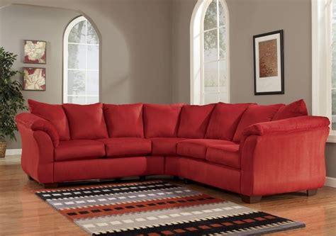 red sectional sofa smalltowndjs com