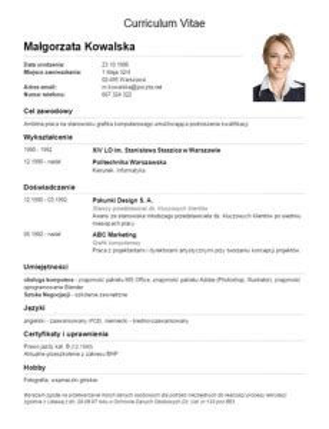 Modelo Curriculum Vitae Clasico 11 Modelos De Curriculums Vitae 10 Ejemplos 21 Herramientas