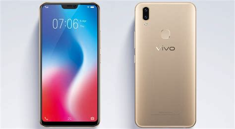 Vivo V9 Black vivo v9 launched in india with 6 3 inch notched display