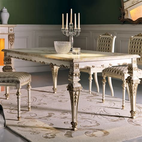 ornate dining table ornate italian louis xiv dining table